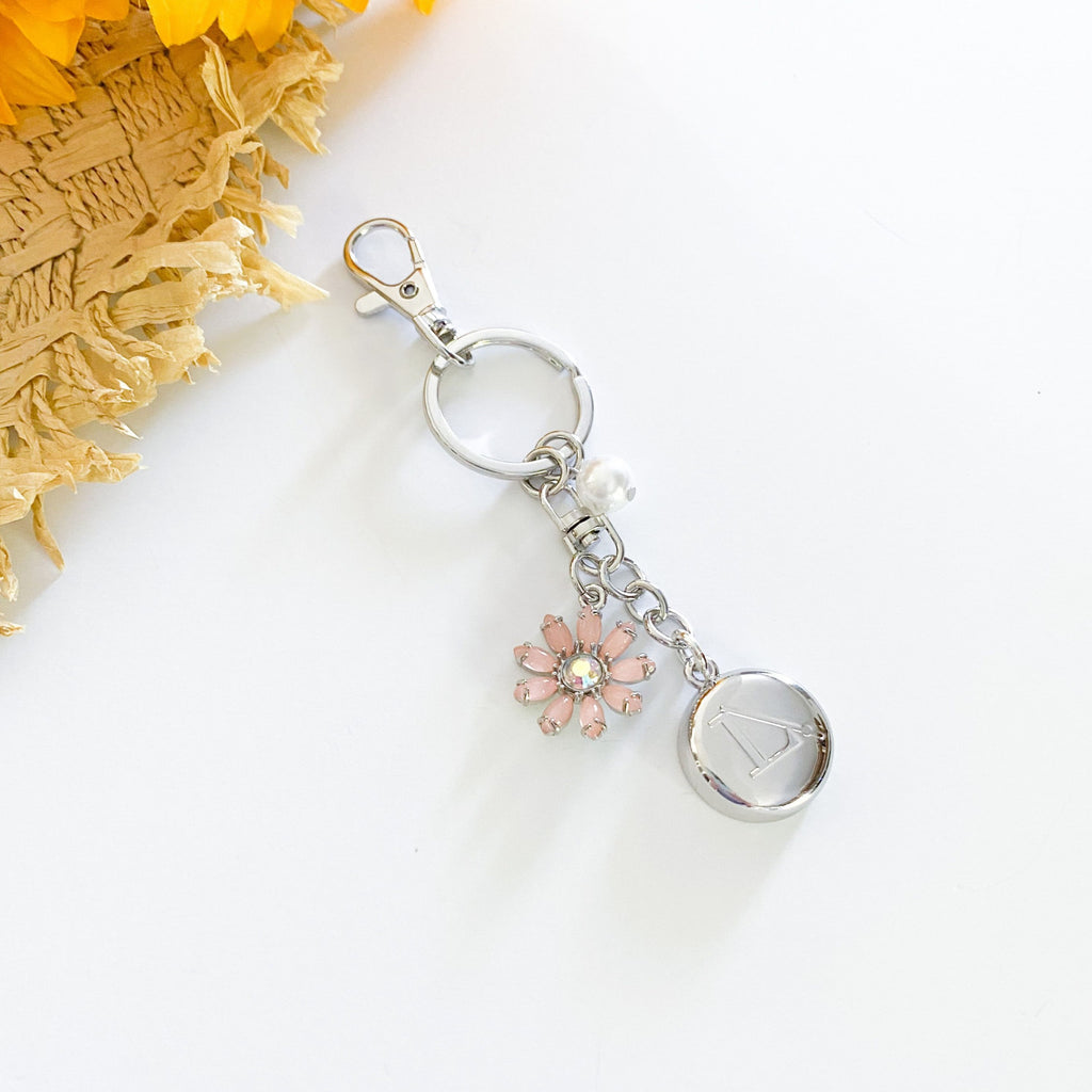 Silver LimeLife Keychain