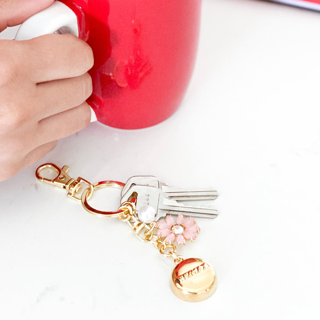 Gold RE/MAX Keychain