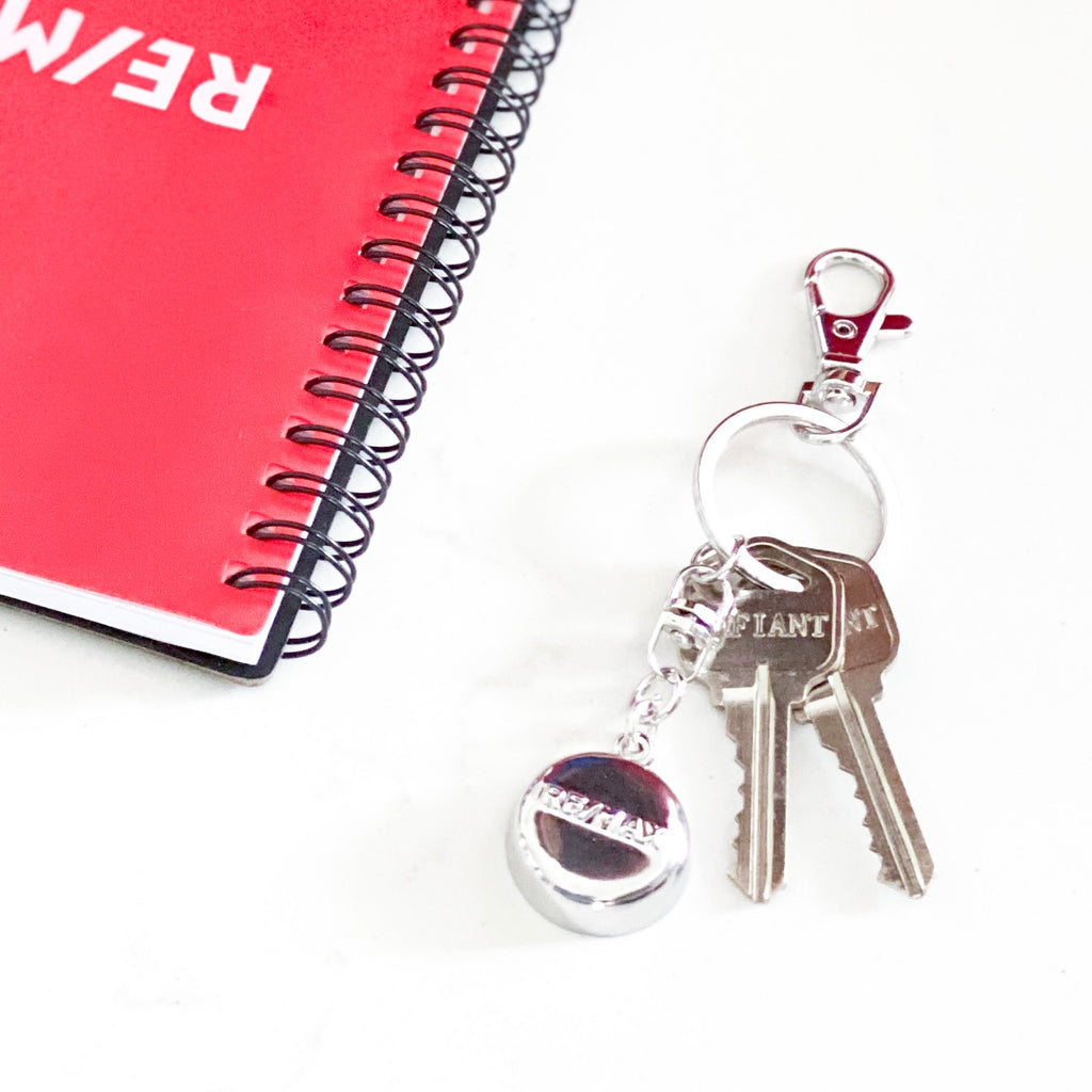 Silver RE/MAX Keychain