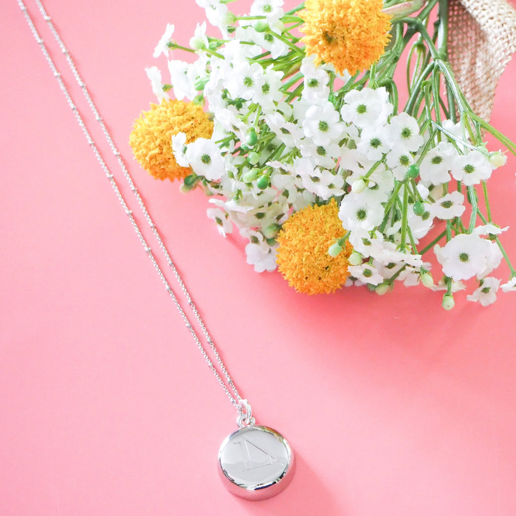 Silver LimeLife Necklace