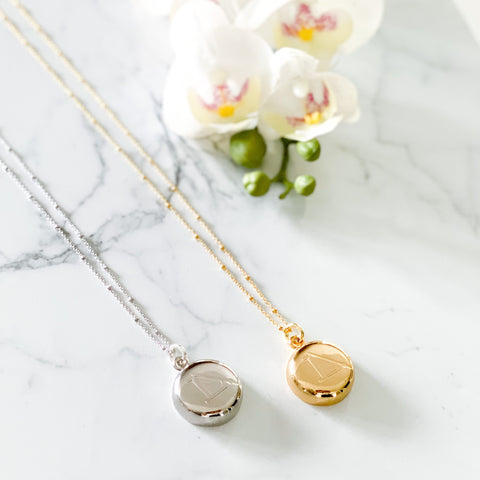 Gold LimeLife Necklace