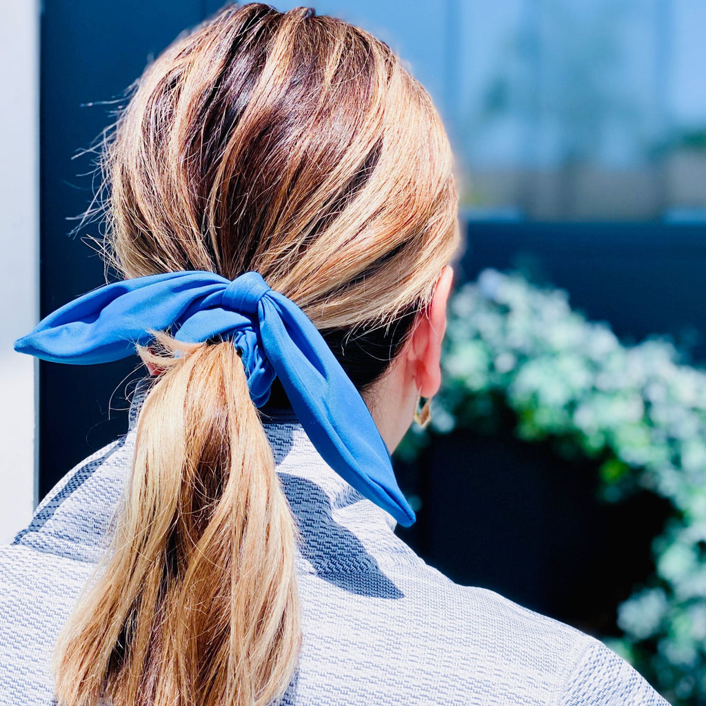 Blue Scrunchie