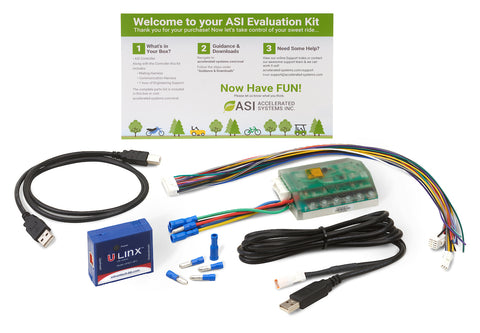 350W Brushless AC Controller Evaluation Kit with Bluetooth