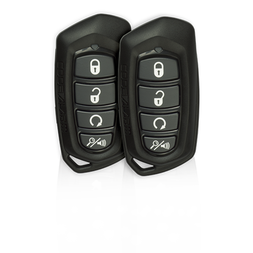1 way 4 button remote start w/keyless entry