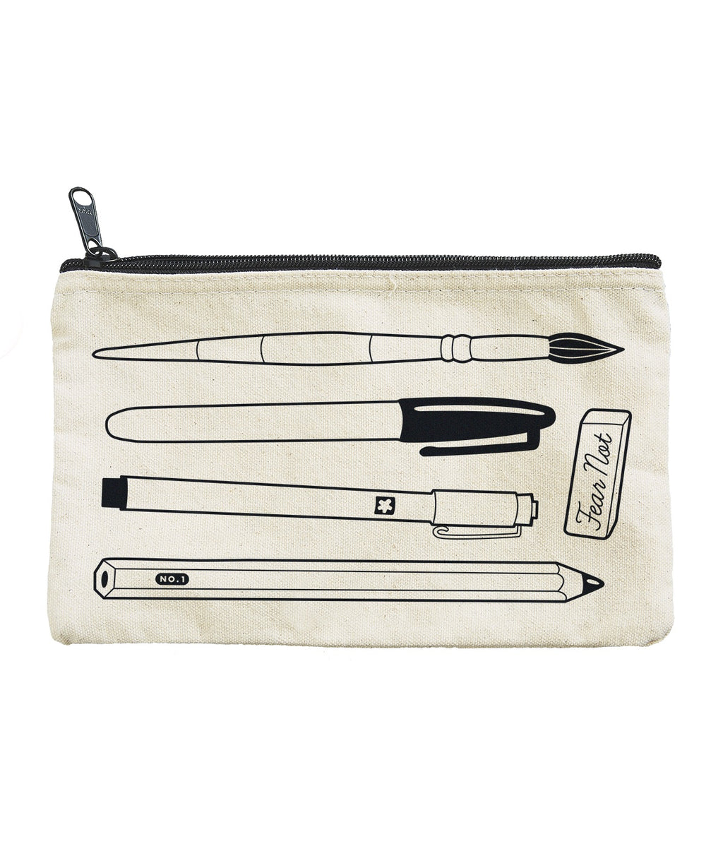 Art Supplies Pouch