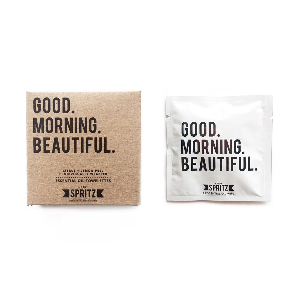 Good Morning Beautiful Towelettes (7 Count Box)