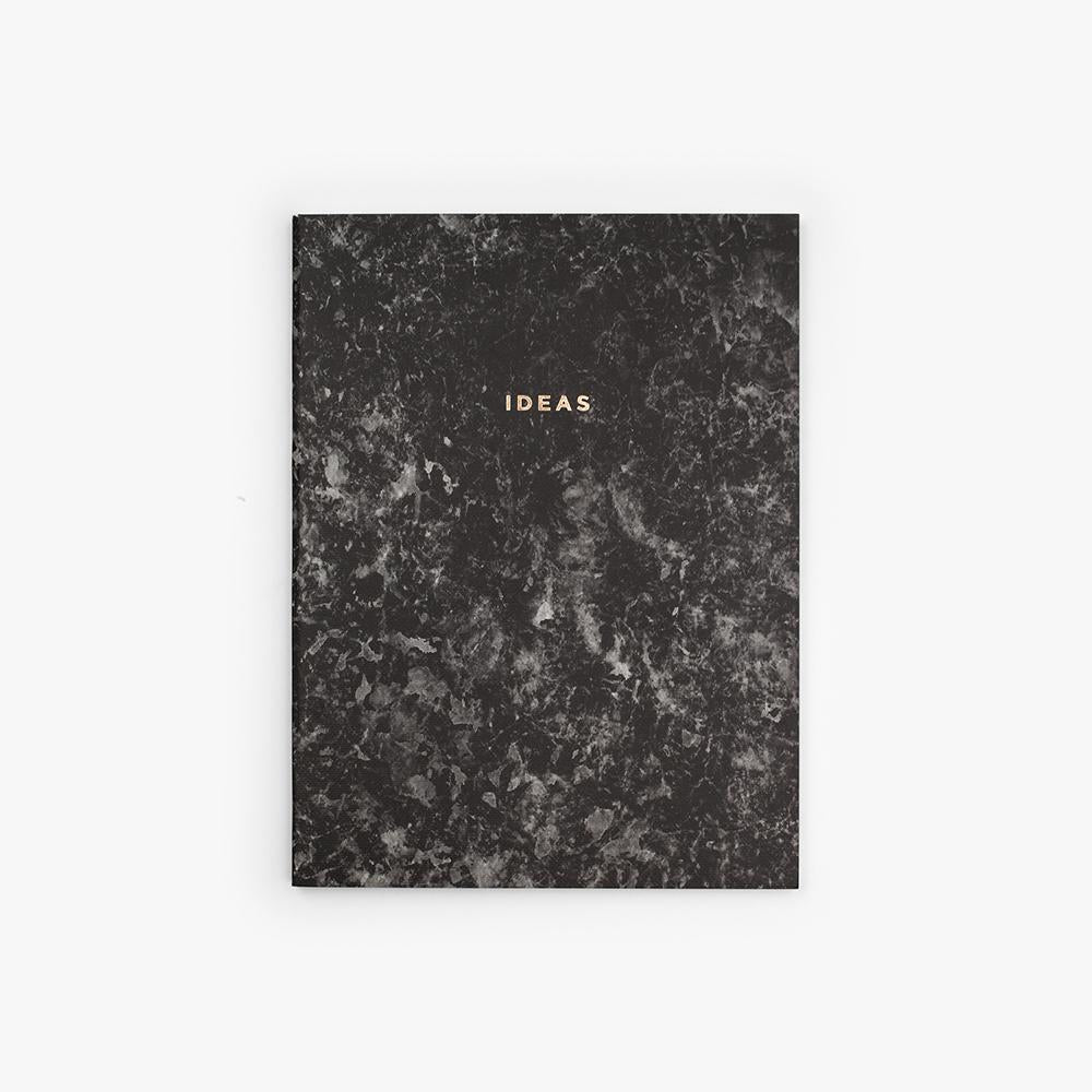 Ideas Stone Paper Notebook in Charcoal