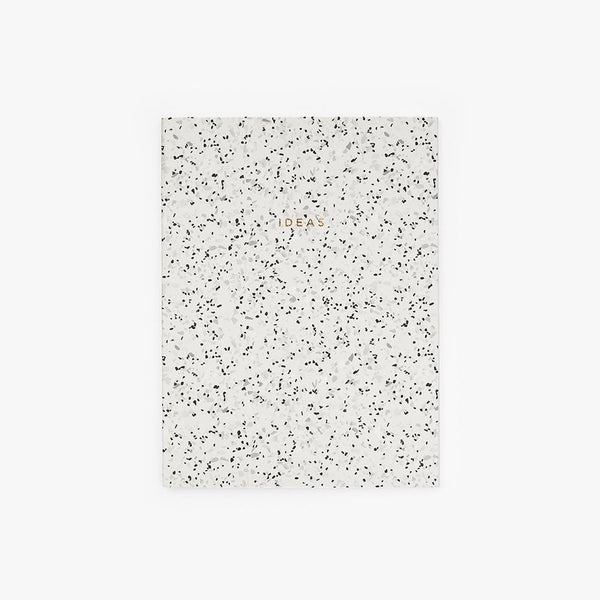 Ideas Stone Paper Notebook in Curava Midnight