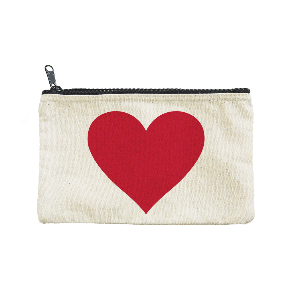 Selzter Goods Big Heart Pouch