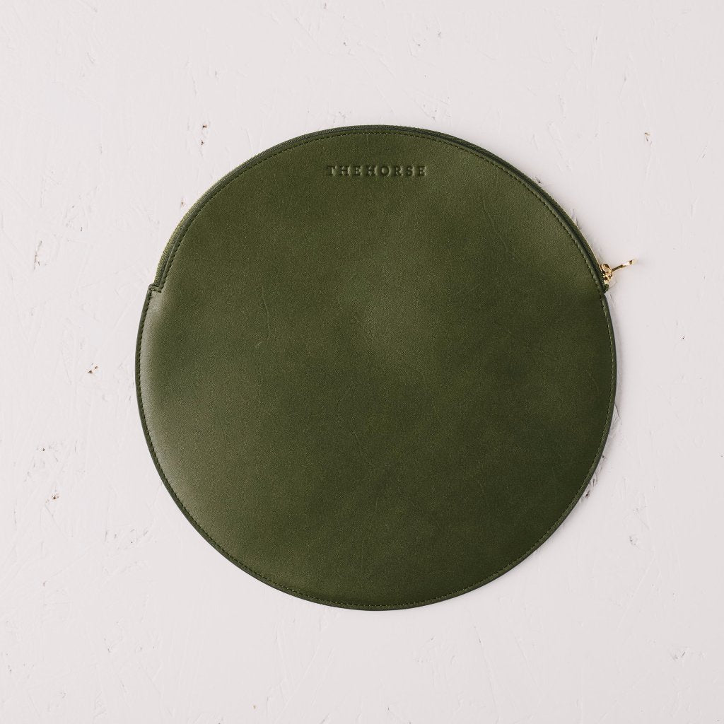 Olive Moon Clutch