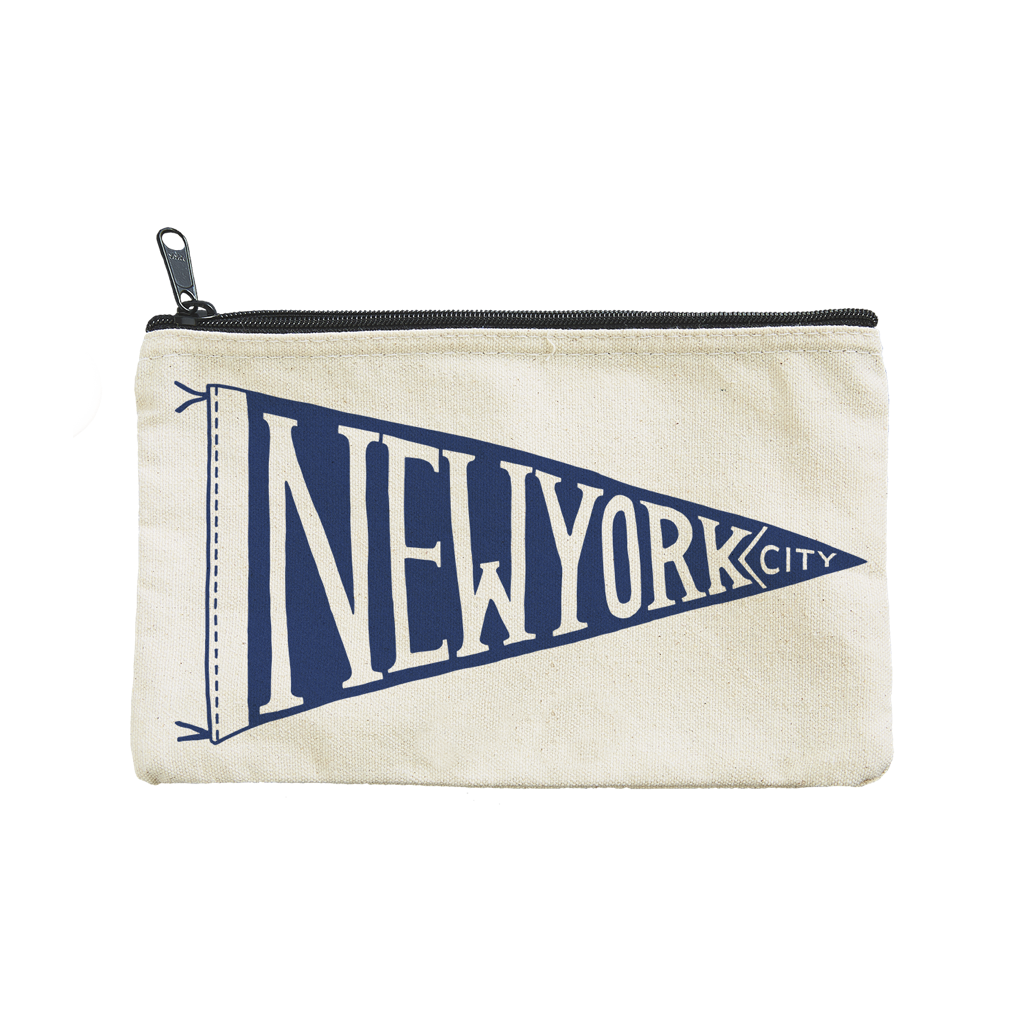 New York Pennant Pouch