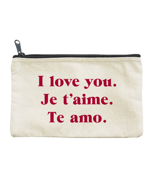 Love Words Pouch