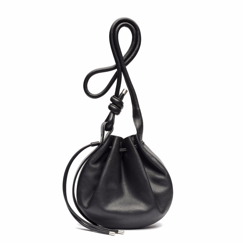 The Bucket Crossbody in Black