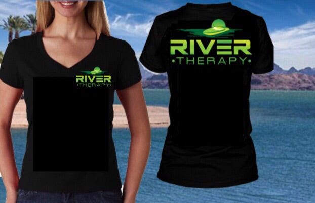 River Therapy Women's V-Neck