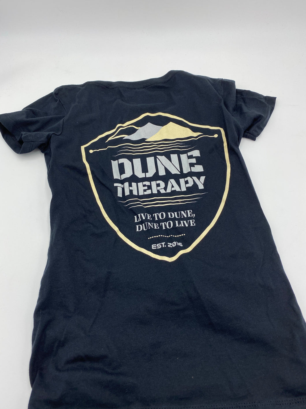 Live To Dune (Sand Color & Gray) - Women's Vneck