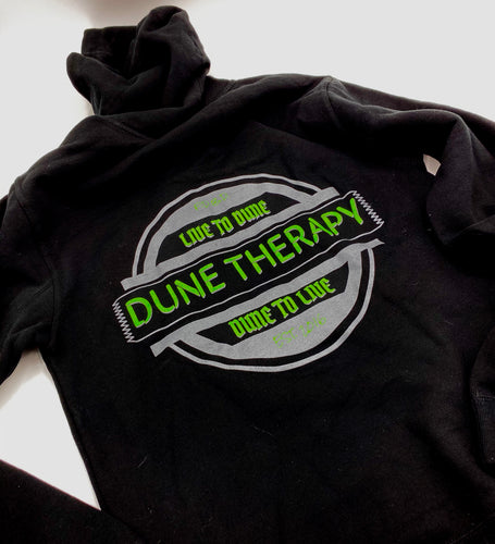 Live To Dune (Monster Green & Gray) - Hoodie