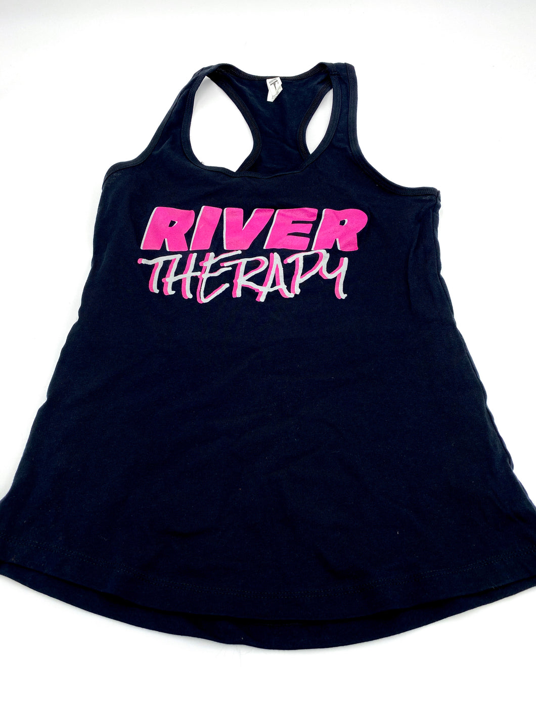 Black Racer Back Tank - River Therapy