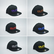 Dune Therapy Hat - Black Snap Back - Flat Bill - Solid Back