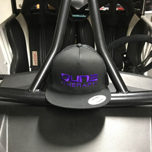 Dune Therapy Hat - Black Snap Back - Flat Bill - Mesh Back