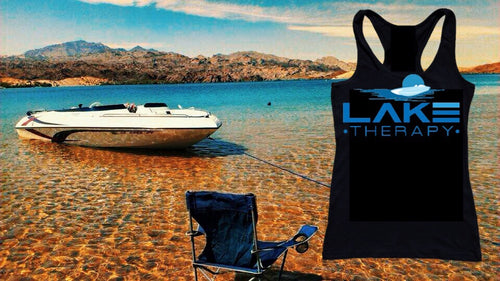 Lake Therapy Women's Razor Back Tank