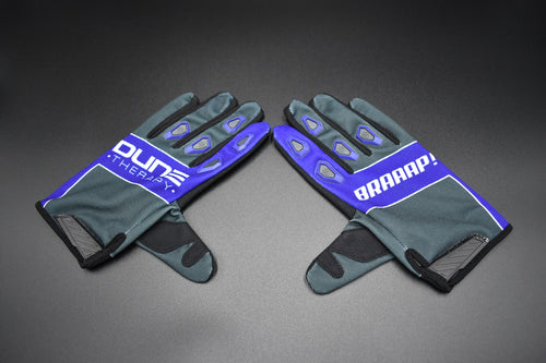 Kids Back the Blue MX Gloves - Youth