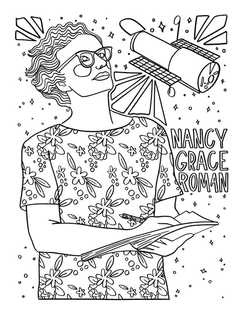 Notable Women Coloring Book