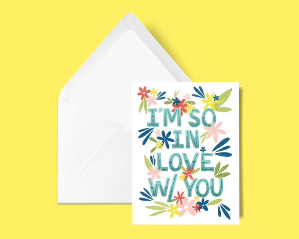 Proud I brag about you all the time Encouragement Congratulations 4x5.5 card and envelope