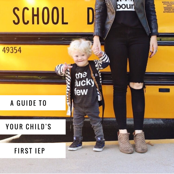 A Guide To Your Child's First IEP