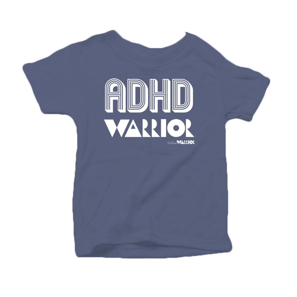 ADHD Warrior Kids Tee