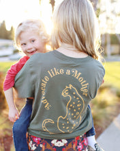 Advocate Like a Mother (Cheetah) Adult Unisex Long Sleeve Tee