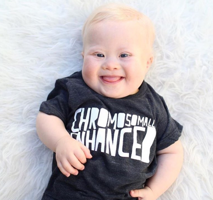Chromosomally Enhanced Babies Onesie