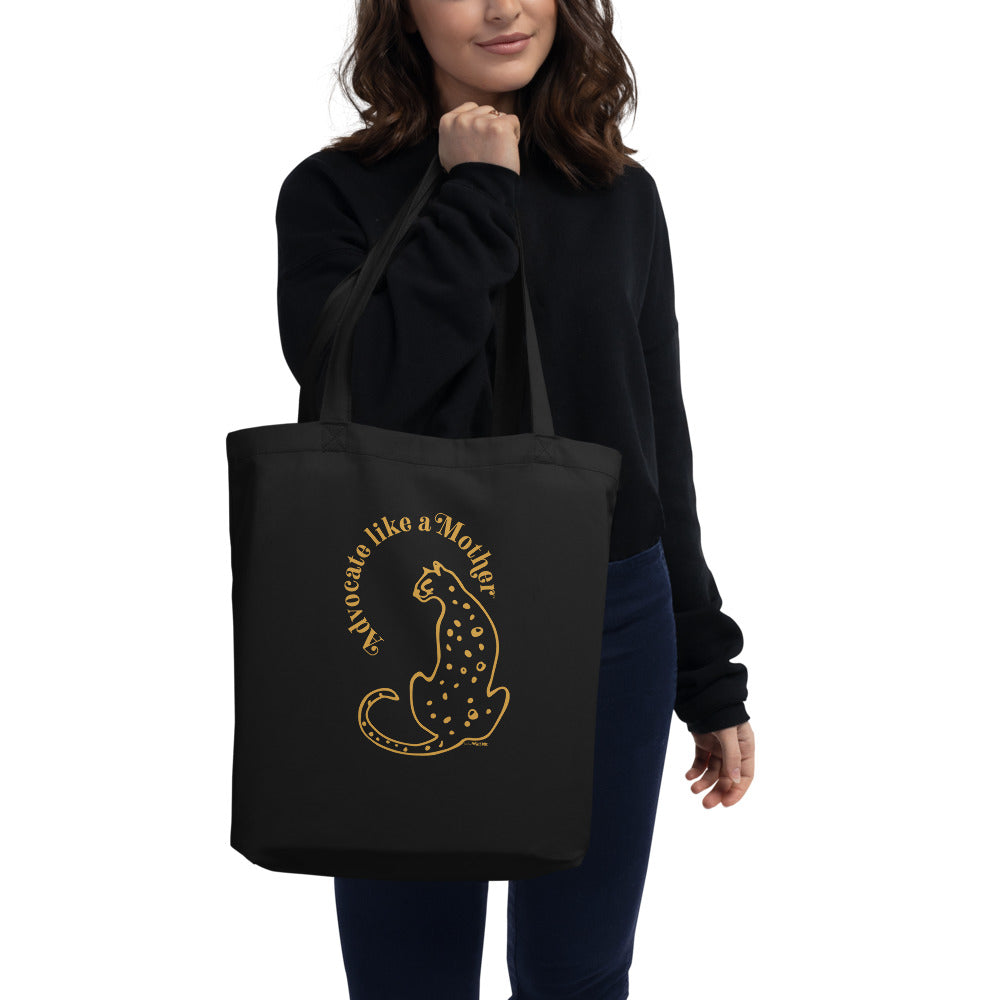 Advocate Like a Mother (Cheetah) Tote