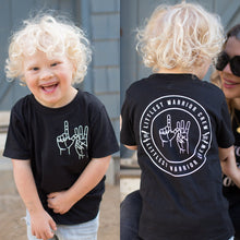 Littlest Warrior Crew Kids Tee