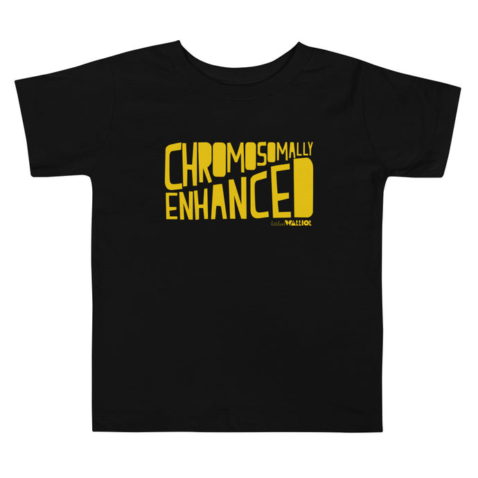 Chromosomally Enhanced (Yellow Ink) Kids Tee