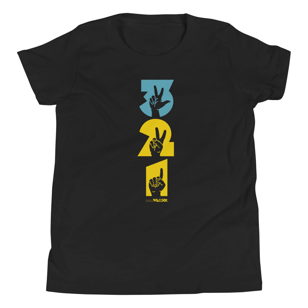 Three Two One Youth Tee