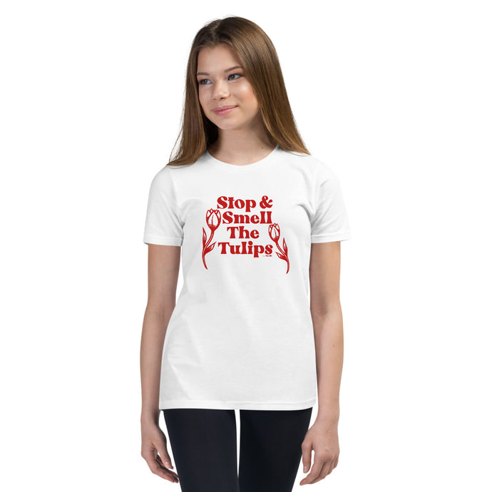 Stop and Smell The Tulips Youth Tee