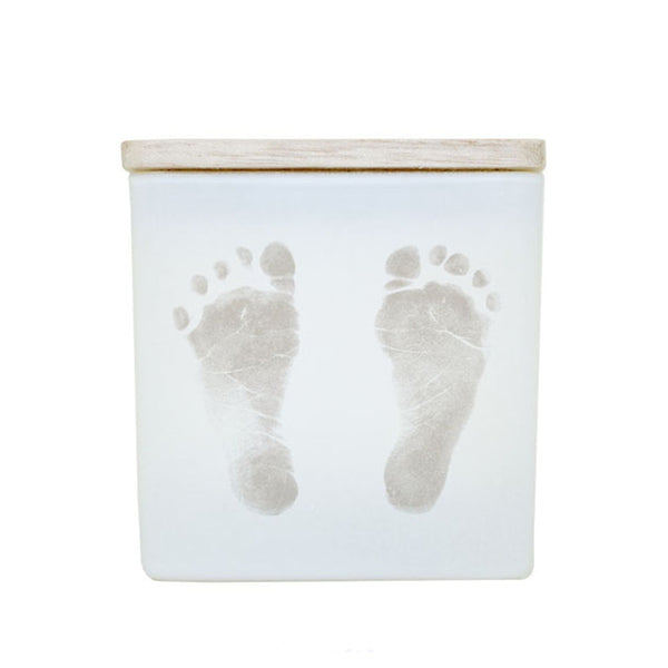 BABY FOOTPRINTS CANDLE