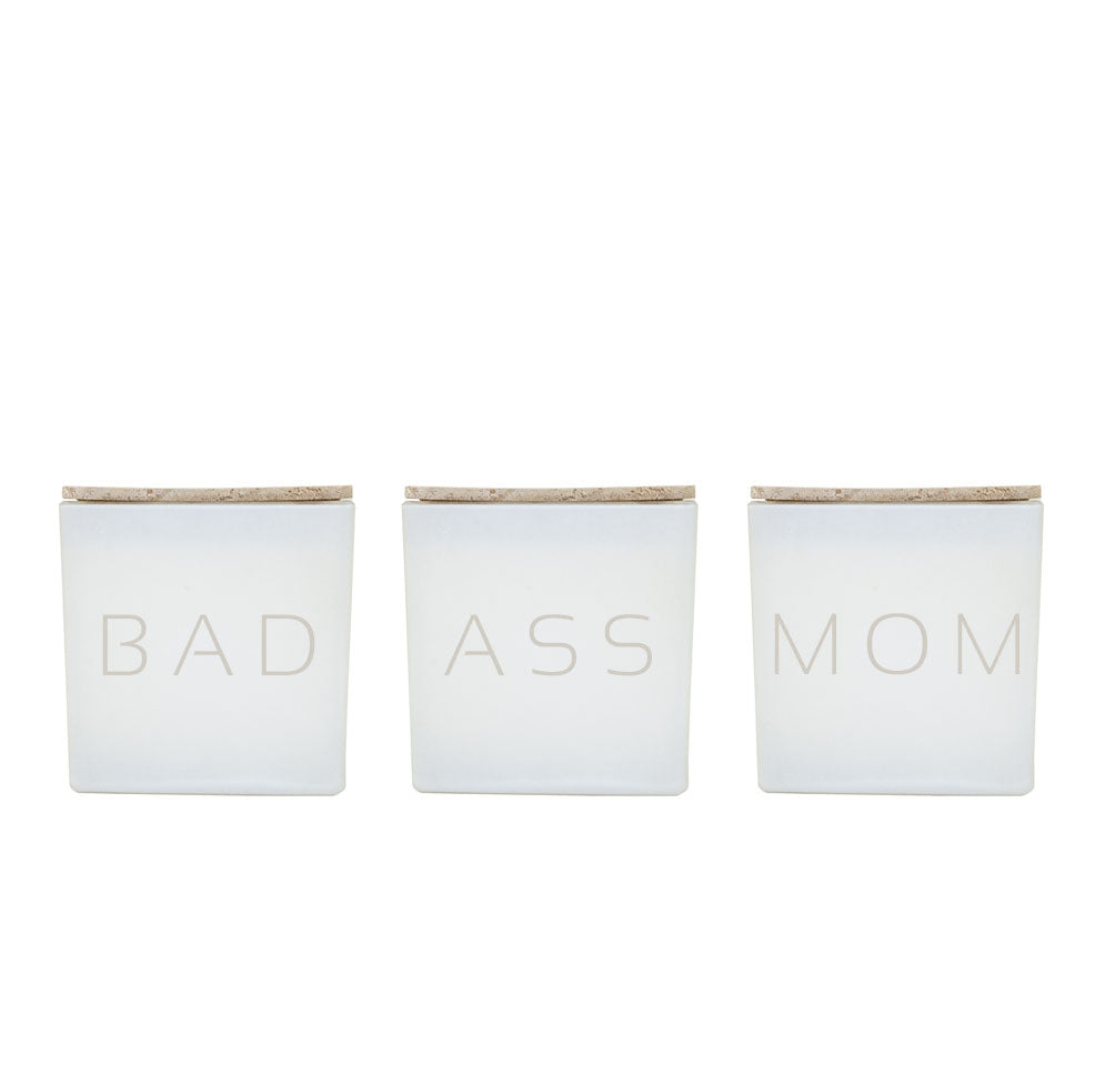BAD ASS MOM CANDLE TRIO
