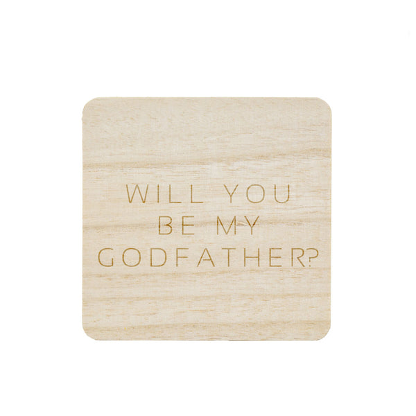 BE MY GODFATHER? CANDLE