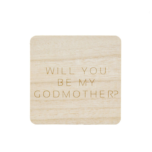 BE MY GODMOTHER? CANDLE