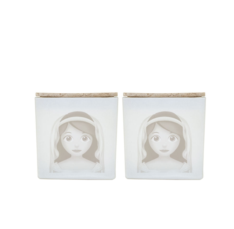 BRIDE AND BRIDE CANDLES (GIFT SET)