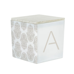 """THE CHERYL"" MONOGRAM CANDLE"