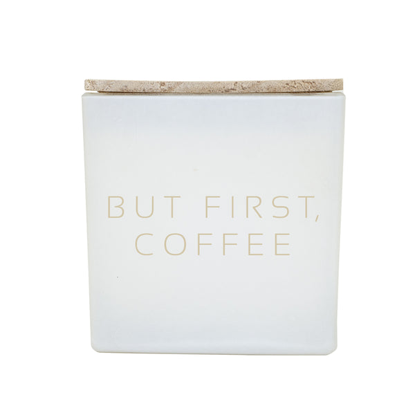 BUT FIRST, COFFEE CANDLE IG