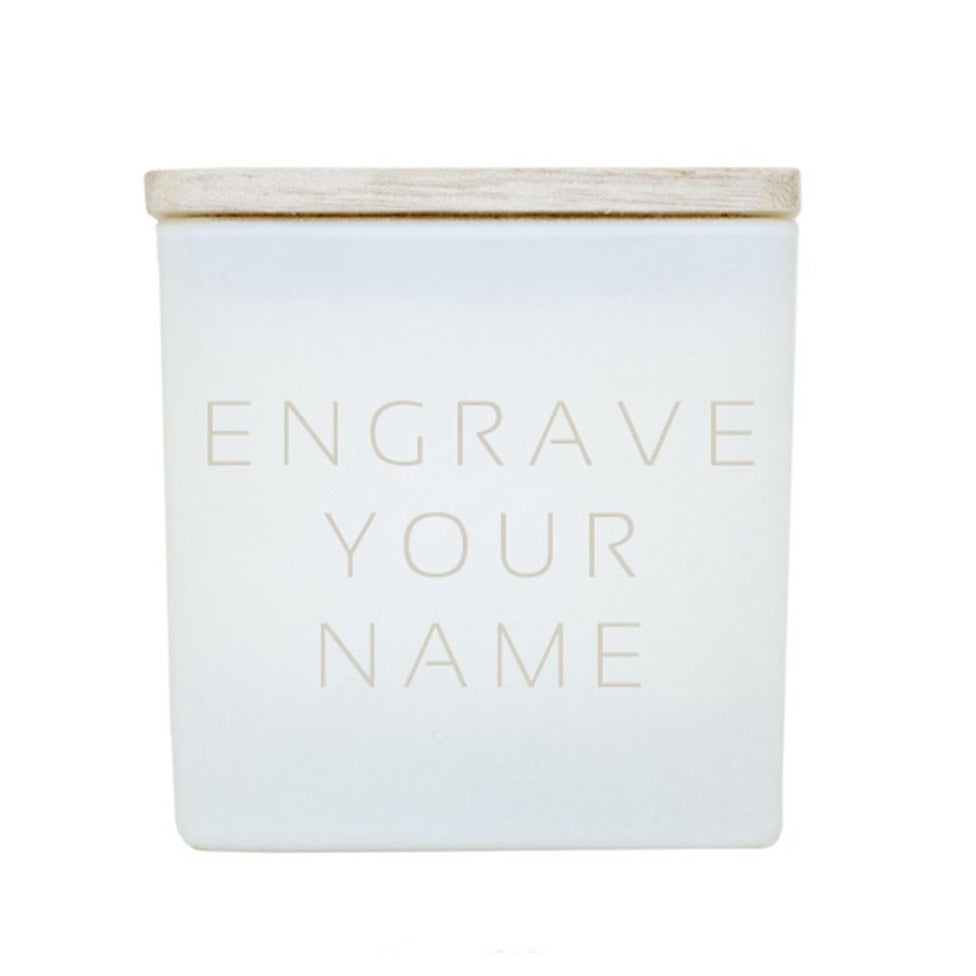 ENGRAVE YOUR NAME CANDLE
