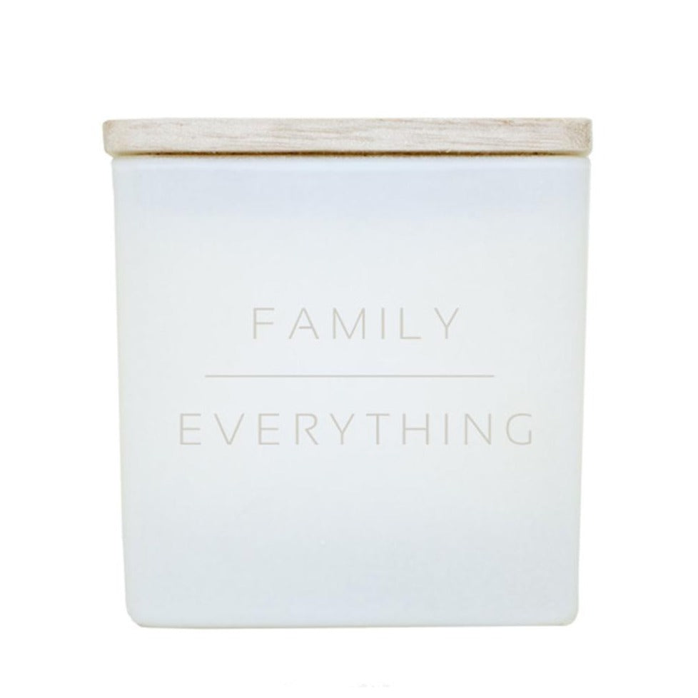 FAMILY -OVER- EVERYTHING CANDLE