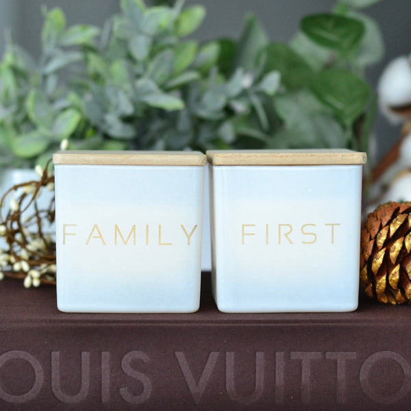 FAMILY FIRST CANDLES (GIFT SET)