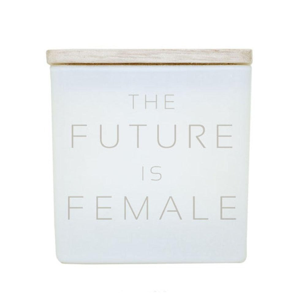 FUTURE IS FEMALE CANDLE