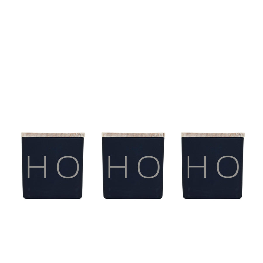 HO HO HO CANDLES (GIFT SET)