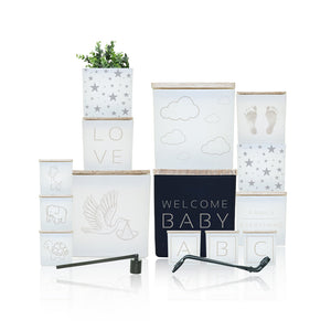 WELCOME BABY INDULGE CANDLE SET