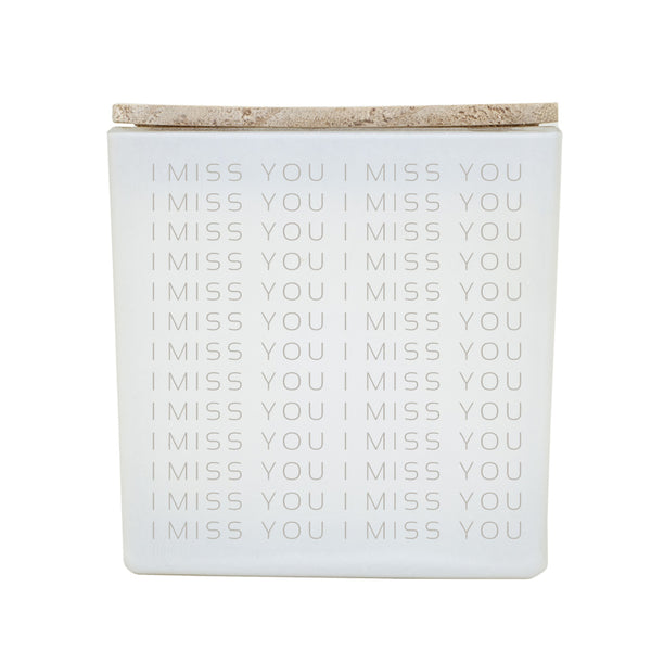 I MISS YOU REPEAT CANDLE